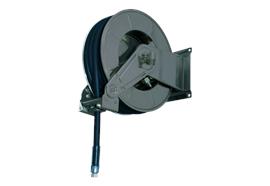 Automatischer Schlauchaufroller 3501 Diesel Stahl lackiert RAL7016 ohne Schlauch
