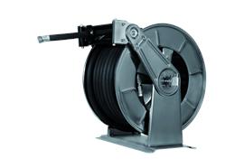 Automatischer Schlauchaufroller 3503 für Adblue Stahl lackiert RAL7016 ohne Schlauch