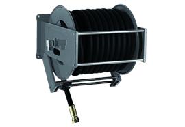 Automatischer Schlauchaufroller 5000 Diesel Stahl lackiert RAL7016 ohne Schlauch