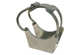 Befestigungsklammer für Fettpressen