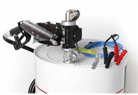 Benzin-Fasspumpe EX50-12V-ATEX komplett für 200 l Fass ohne Zähler