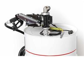 Benzin-Fasspumpe EX50-230V-ATEX komplett für 200 l Fass ohne Zähler