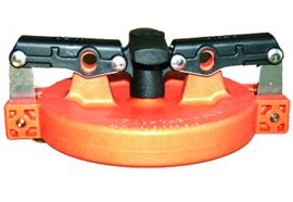 "Deckel zu Vapor Recovery Adaptor 4"" orange"