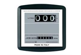 Durchflussmengenzähler K33-H, horizontal für EP50