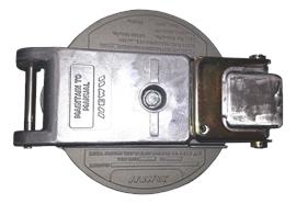 EMCO Deckel mit Verschlussarm montiert