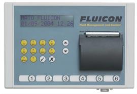 FLUICON - Keypad mit integriertem Drucker eichfähig