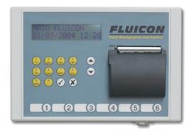 FLUICON - Keypad mit integriertem Drucker