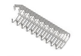 Gurtverbinder M62LNP-300-12 - Draht 0,9 x 0,7 mm aus 1.4016 (S) - ohne Verbindestab