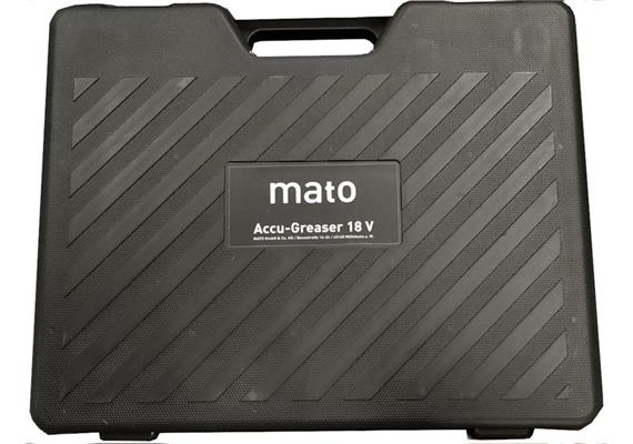 Koffer zu MATO AccuGreaser 18V