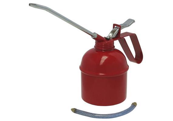 Metallölkanne Gr. 2, 400 cm³ mit starrem und flexiblem Auslauf