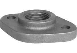 "Ovalgewindeflansch 2"" Stahl DIN5435"