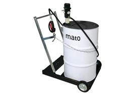 pneuMATO 3 fahrbar mit Ölfüllpistole