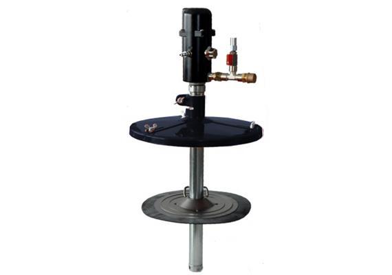 pneuMATO-fill-200-d für Fettgebinde von 200 kg, Innen-ø 550 - 590 mm