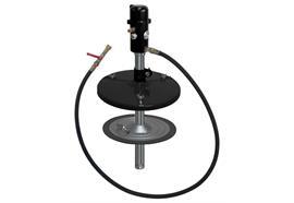 pneuMATO-fill Füllgerät stationär, für 50 kg Fettgebinde, Innen-ø 355 - 387 mm