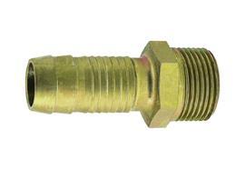 """Schlauchtülle aus Stahl mit Sicherungsbund 38 mm x R1½"""" AG"""