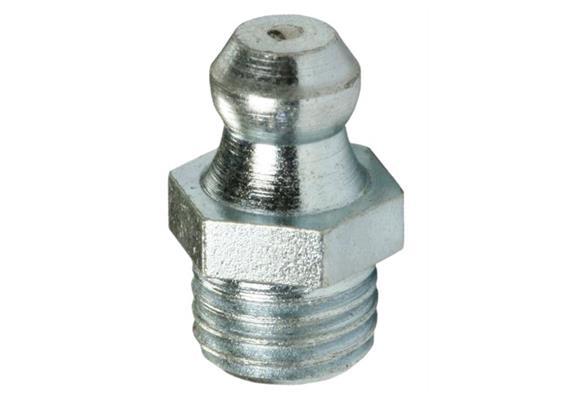 Schmiernippel H1 M8x1.25 aus Stahl verzinkt, SW9 - VPE 3000