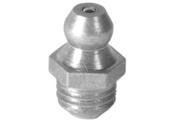 "Schmiernippel H1 R 1/8"" aus Stahl verzinkt, SW11 - VPE 2000"
