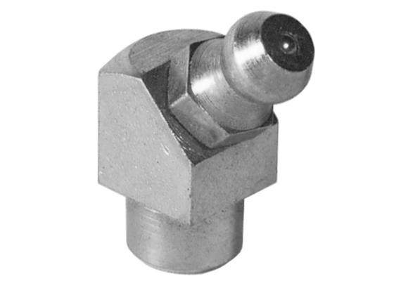 Schmiernippel H2a 8 mm zum Einschlagen aus Stahl verzinkt