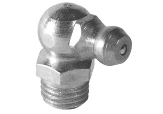 Schmiernippel H3 M10x1 aus Stahl verzinkt, SW11