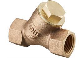 """Schmutzfänger 1"""" IG Rotguss 600 µm"""