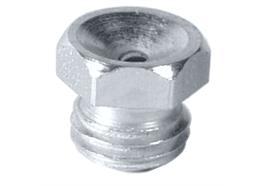 Trichterschmiernippel D1 - M6 aus Stahl verzinkt, SW 7