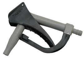 Zapfpistole PP - 25 mm mit Schlauchanschluss mit Viton Dichtung