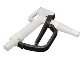 Zapfpistole PVDF - 25 mm mit Schlauchanschluss mit Viton Dichtung