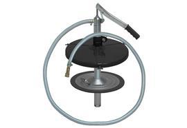 ZSA-Füllgerät centraFILL - 25-s für 25 kg Fettgebinde, Innen-ø 300 - 335 mm