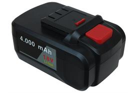 Batterie Li-Ion 4000 mAh pour Accu-Greaser 18 V