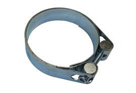 Colliers de serrage SK 46-52 mm bande large zinqué