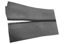 Connecteurs en spirale Y90PBD - 30 m, noire, 106,5 mm