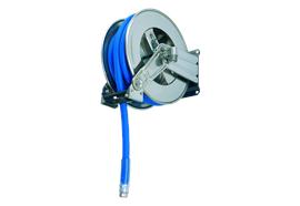 Enrouleur 1200 pour Adblue en acier inox avec 10 m de tuyau