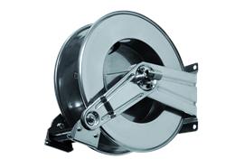 """Enrouleur à ressort en acier inox HR1100 pour tuyaux de 1/4""""-3/8""""-1/2"""" jusqu'à 200 bar"""
