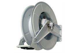 Enrouleur sans flexible avec axe en acier inox - pour max. 15m flexible DN12