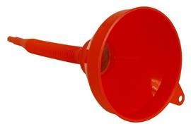Entonnoir avec filtre et bec flexible démontable FS-PP-F 160, ø 160 mm