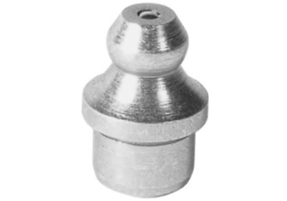 Graisseur hydraulique à enfoncer H1a 10 mm en acier zingué