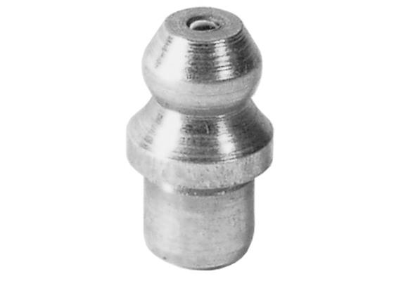Graisseur hydraulique à enfoncer H1a 6 mm en acier zingué