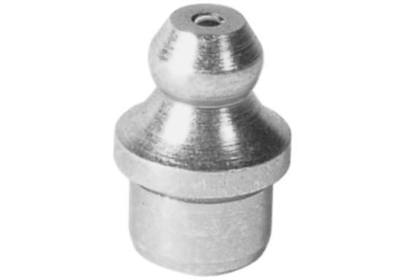 Graisseur hydraulique à enfoncer H1a 8 mm en acier zingué - Cond. 3000 pcs