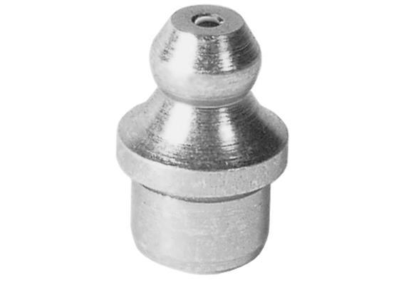 Graisseur hydraulique à enfoncer H1a 8 mm en acier zingué