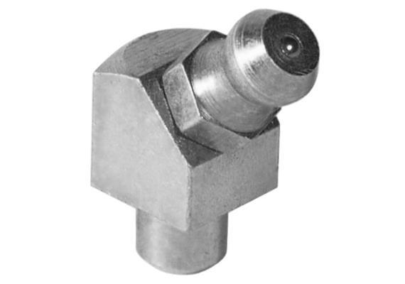 Graisseur hydraulique à enfoncer H2a 6 mm en acier zingué