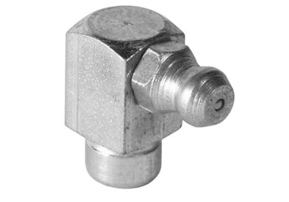 Graisseur hydraulique à enfoncer H3a 8 mm en acier zingué