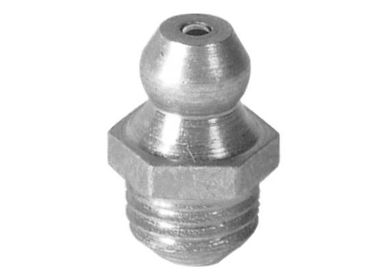 Graisseur hydraulique H1 M10x1 en acier zingué, 6-pans11
