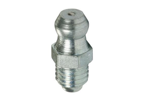 Graisseur hydraulique H1 M6 en acier zingué, 6-pans 7