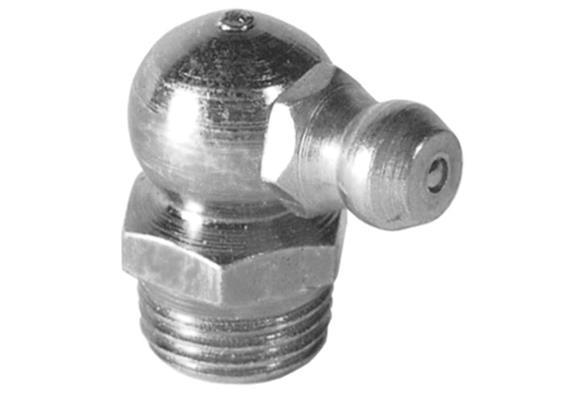 """Graisseur hydraulique H3 R1/4"""" en acier zingué, 6-pans 14"""