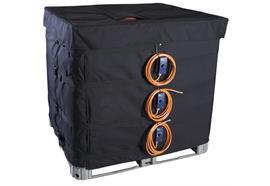 Manchons chauffants pour IBC 1000 l avec 3 zones de chauffage