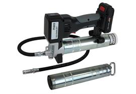 MATO AccuGreaser 18V Premium S-LS avec flexible et agrafe hydraulique