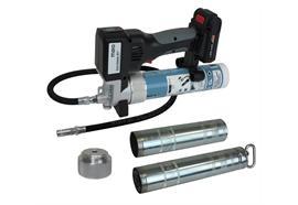 MATO AccuGreaser 18V-Premium S-LSP avec flexible et agrafe hydraulique