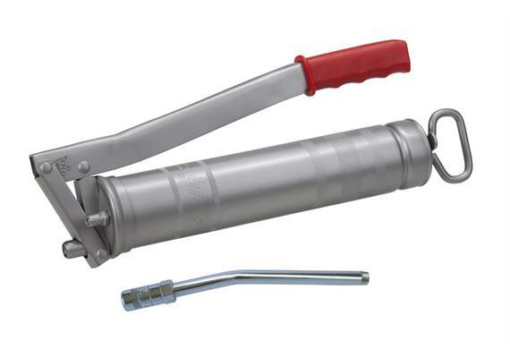 """MATO - Pompe à graisse à levier E500 - R1/8"""", avec tube rigide E4024, filetage 1/8"""""""