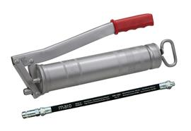"""MATO - Pompe à graisse à levier E500 - R1/8"""", avec tuyau RH30-C, filetage 1/8"""""""