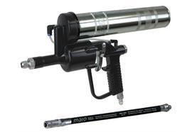 """Pistolet pneumatique DF 500 avec tuyau RH30-C et agrafe hydrauique 4 mors - R 1/8"""""""